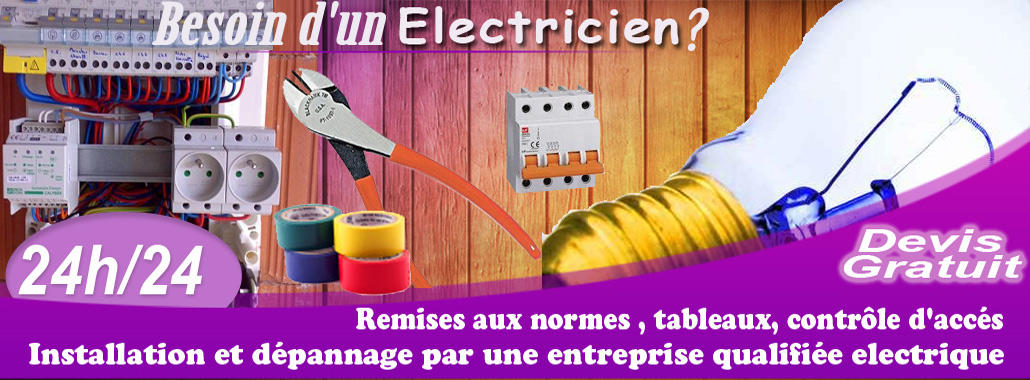 Electricien Marcoussis 01 69 96 08 17